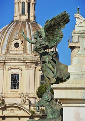 Photograph - Monument Angel by JAMART Photography
