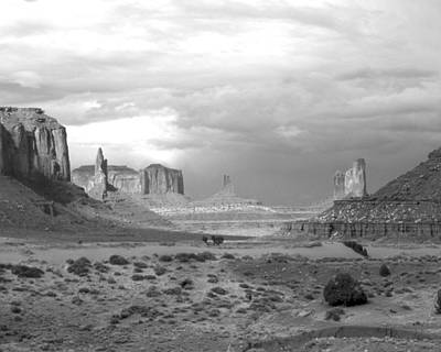Monument Valley Afternoon Art Print by Troy Montemayor