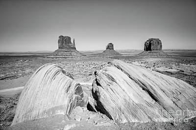 Photograph - Monument Valley by Colin and Linda McKie
