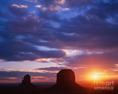 Photograph - Monument Valley by Dennis Flaherty
