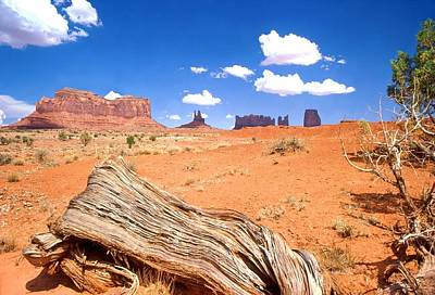 Photograph - Monument Valley by John Foote