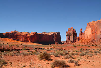 Photograph - Monument Valley by Mark Smith
