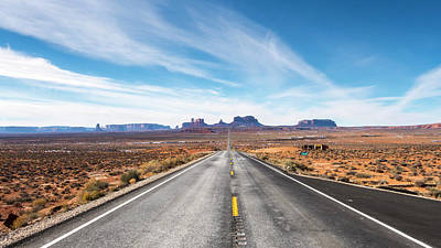Photograph - Monument Valley National Park In Arizona, Usa by Josef Pittner