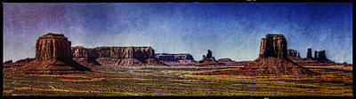 Photograph - Monument Valley View From Artists Point by Roger Passman