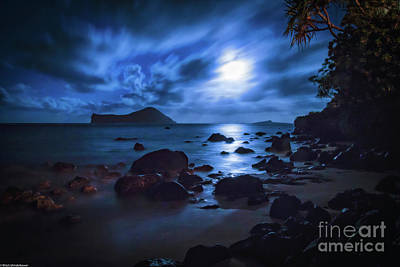 Photograph - Moon Glow by Mitch Shindelbower