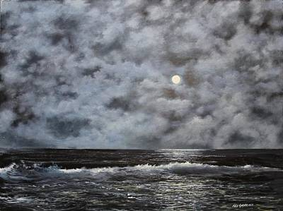 Painting - Moon Struck by Ken Ahlering