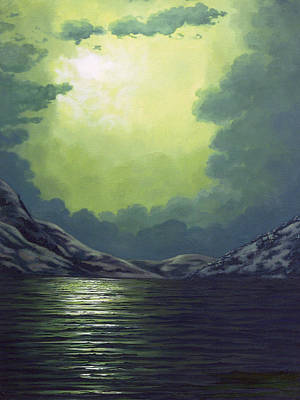 Painting - Moondance by Teresa Leigh Ander