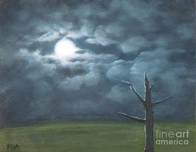 Painting - Moonglow by Phyllis Andrews