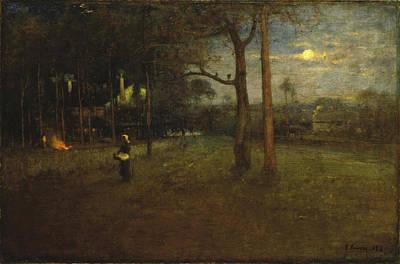 Painting - Moonlight, Tarpon Springs by George Inness