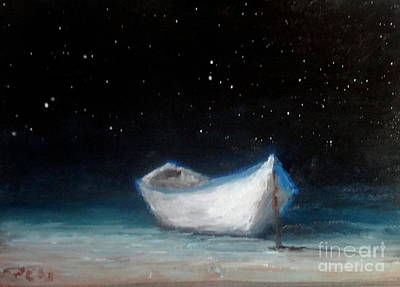Painting - Moonlit by Fred Wilson