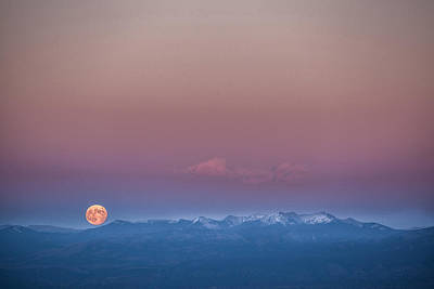 Photograph - Moonrise by Elena E Giorgi