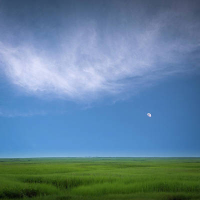 Photograph - Moonrise by John Whitmarsh