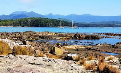 Photograph - Mooring In Recherche Bay, Tasmania by Lexa Harpell