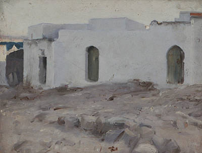 Painting - Moorish Buildings On A Cloudy Day by John Singer Sargent
