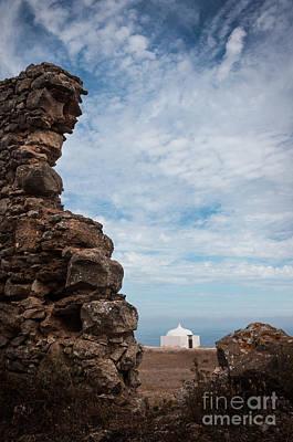 Ruin Photograph - Moorish Chapel by Carlos Caetano