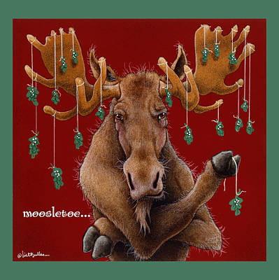 Painting - Moosletoe... by Will Bullas