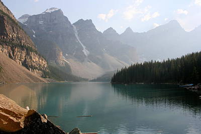 Photograph - Moraine Lake by Betty-Anne McDonald