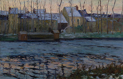 Painting - Moret, Winter by Maurice Cullen