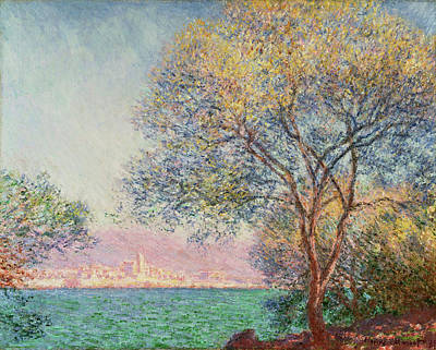 Painting - Morning At Antibes by Claude Monet