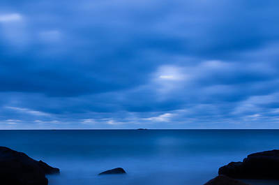 Photograph - Morning Blues Singing Beach by Michael Hubley
