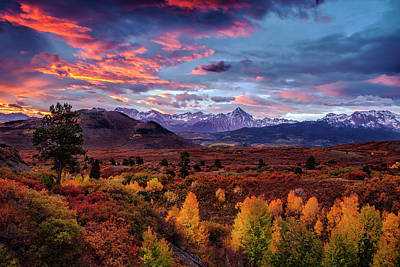 Photograph - Morning Drama In The Colorado Rockies by Andrew Soundarajan