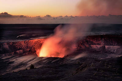 Photograph - Morning Eruption by Nicki Frates