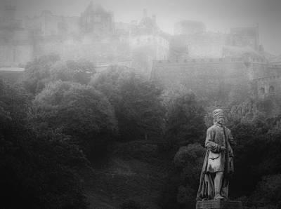 Cargo Boats - Morning Fog In Edinburgh by Jeff Watts