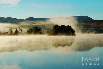 Photograph - Morning Fog by Mike Dawson