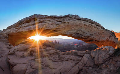Photograph - Morning Glory - Mesa Arch - Canyonlands National Park by Gregory Ballos