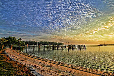 Photograph - Morning In The Cove 2 by HH Photography of Florida