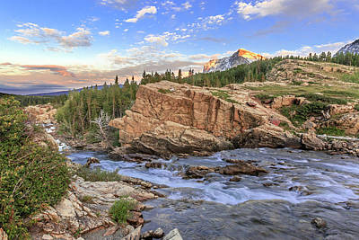Photograph - Morning In The Mountains by Jack Bell