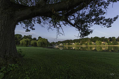 Bathhouse Photograph - Morning In The Park by Everet Regal