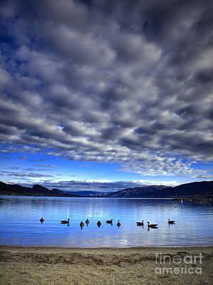 Photograph - Morning Light On Okanagan Lake by Tara Turner