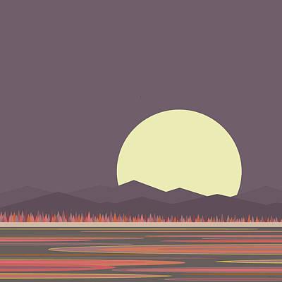 Digital Art - Morning Light by Val Arie