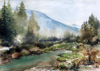 Painting - Morning Mist by Monte Toon
