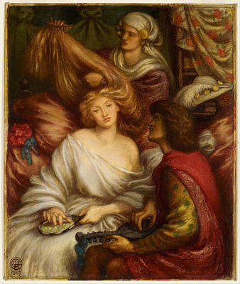 Painting - Morning Music by Dante Gabriel Rossetti