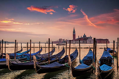 Photograph - Morning Over St. Mark's by Andrew Soundarajan