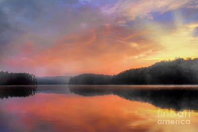 Art Print featuring the photograph Morning Solitude by Darren Fisher