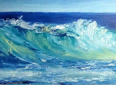 Painting - Morning Surf by Fred Wilson