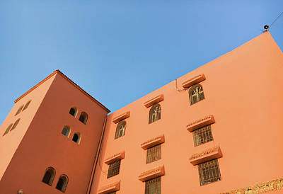 Moroccan Photograph - Moroccan Building by Tom Gowanlock