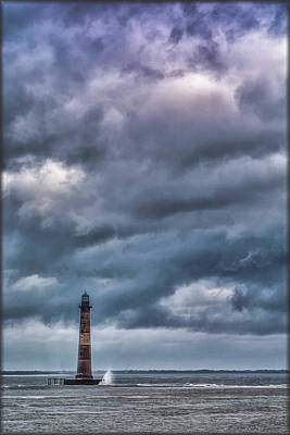 Photograph - Morris Island Lighthouse by Erika Fawcett