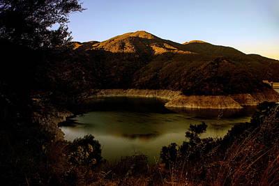 Photograph - Morris Reservoir At Sunrise by Joseph Hollingsworth