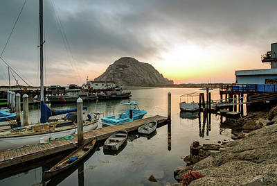 Photograph - Morro Rock Sunset by R Scott Duncan