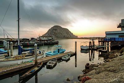 Photograph - Morro Rock Sunset by R Scott Duncan