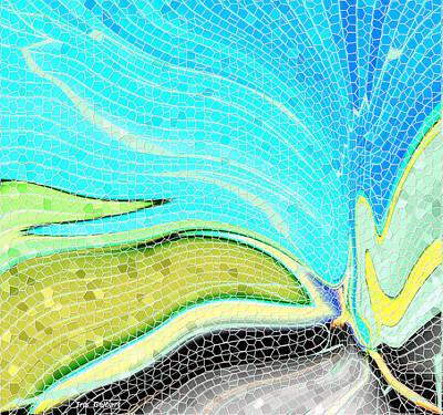 Digital Art - Mosaic Magic by Iris Gelbart