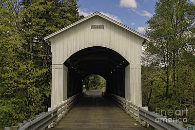 Mosby Photograph - Mosby Creek Bridge by Tim Moore