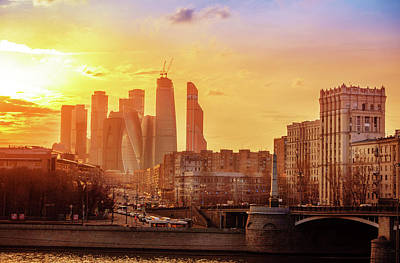 Photograph - Moscow City by Alexey Stiop