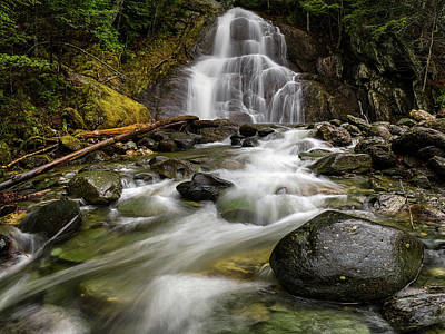 Photograph - Moss Glenn Falls by Robert Clifford