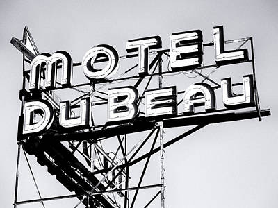 Photograph - Motel Du Beau Route 66 by Dominic Piperata