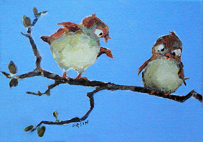 Painting - You Can Fly by Diane Ursin